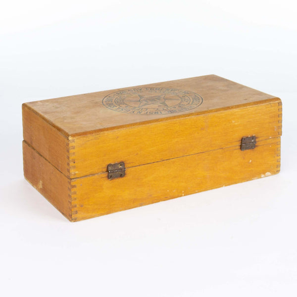 Tyrell's Hygienic Institute Wooden Box