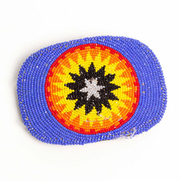 Native Made Beaded Buckle