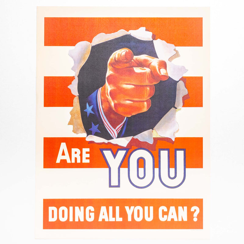 Poster - Are You Doing All You Can