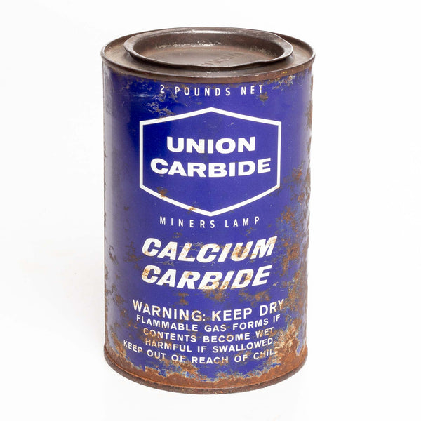 Union Carbide Can 2 Lb Calcium Carbide