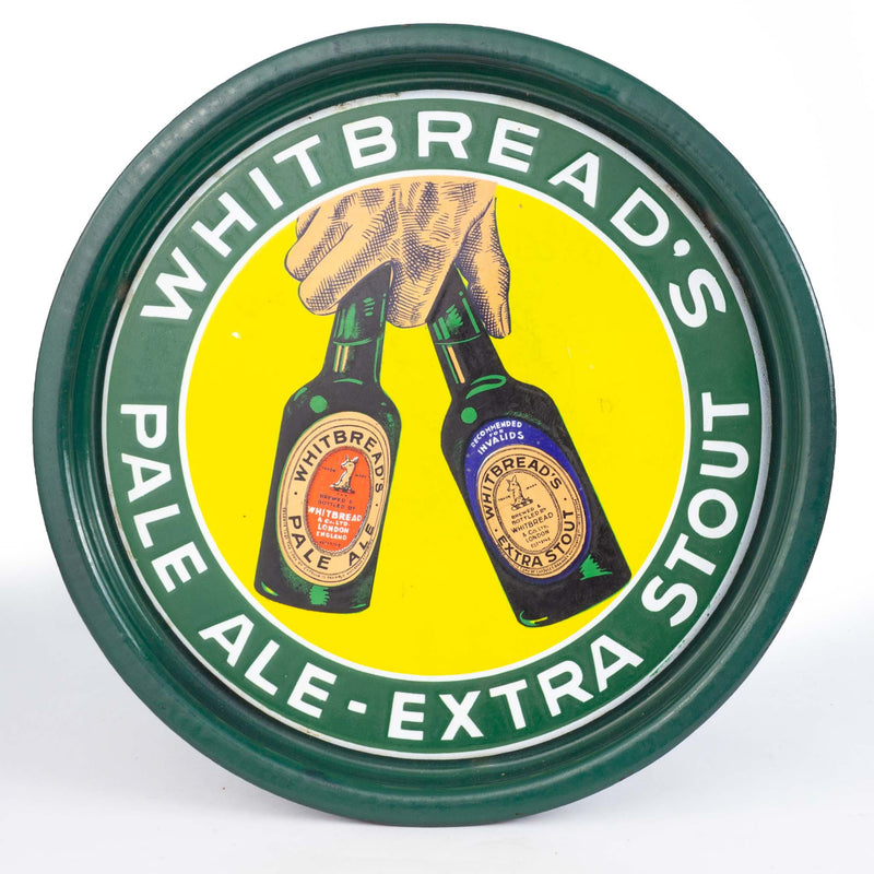 Circular Tray Whitbread Pale Ale Extra Stout