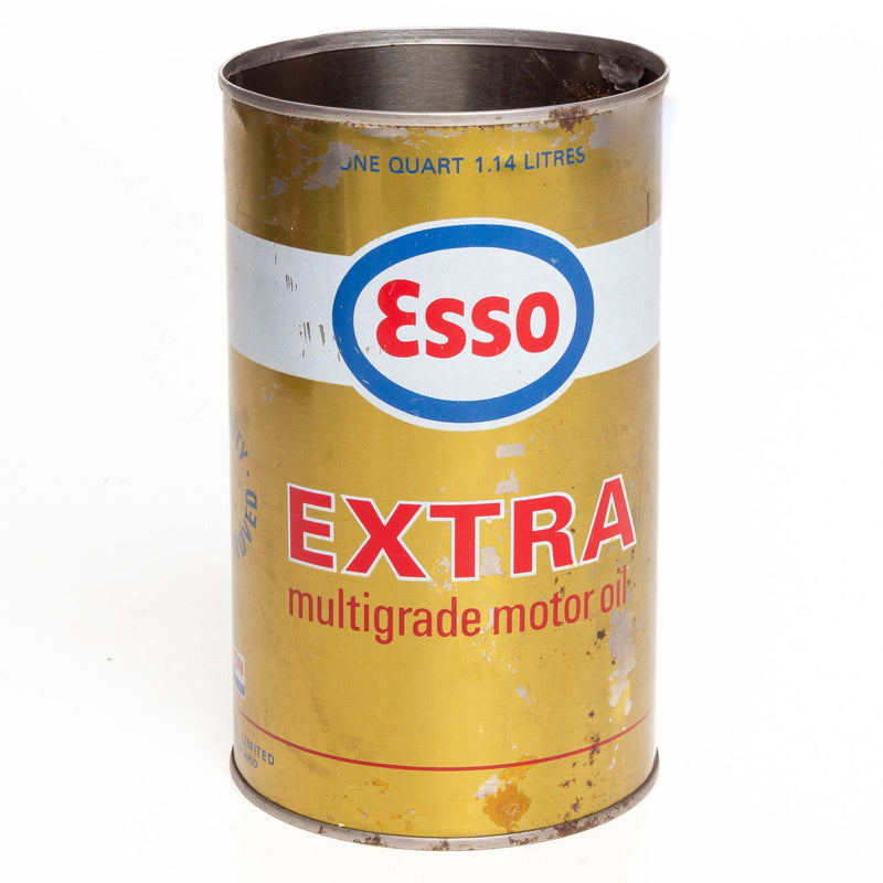 Esso Extra Metal Oil Can 1 Qt