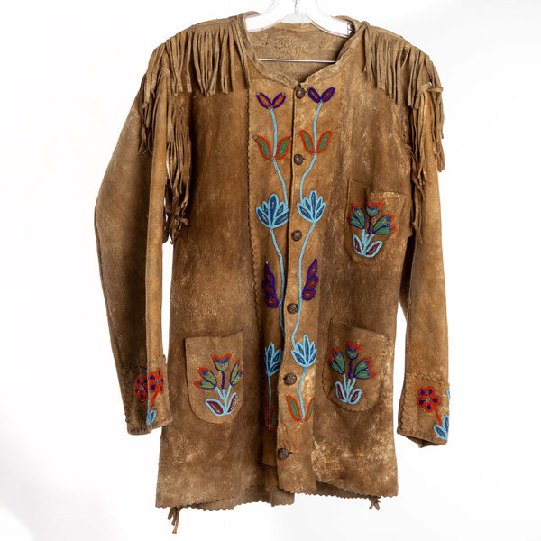 Vintage Native Beaded Jacket