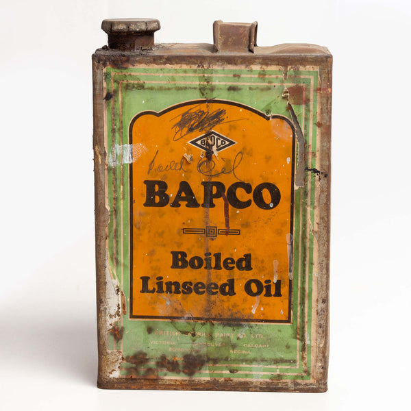 Bapco Boiled Linseed Oil Can