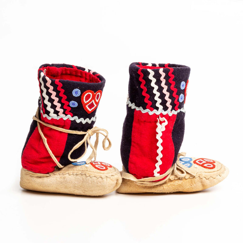 1950's norway house cree child's mulcluks