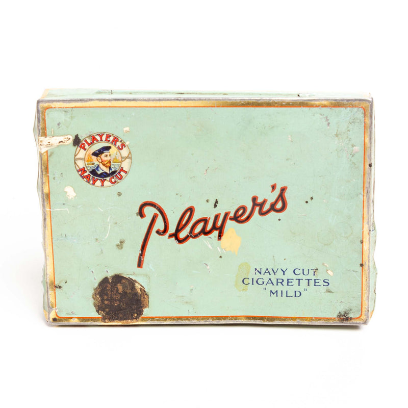 Player's Flat Cigarette Tin