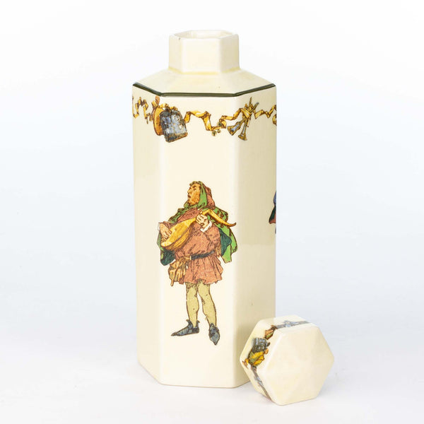 Royal Doulton Minstrel Hexagon Lidded Jug