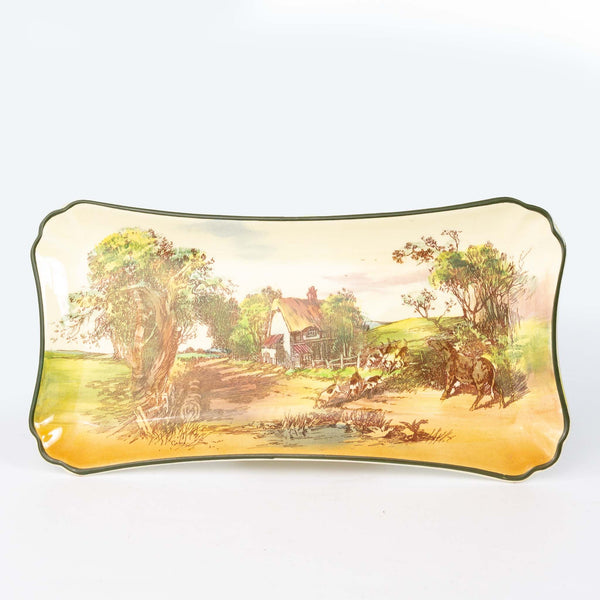 Royal Doulton Rustic England Sandwich Tray