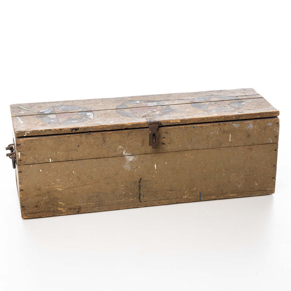 Yarmouth Small Tool Box Nova Scotia Original Paint