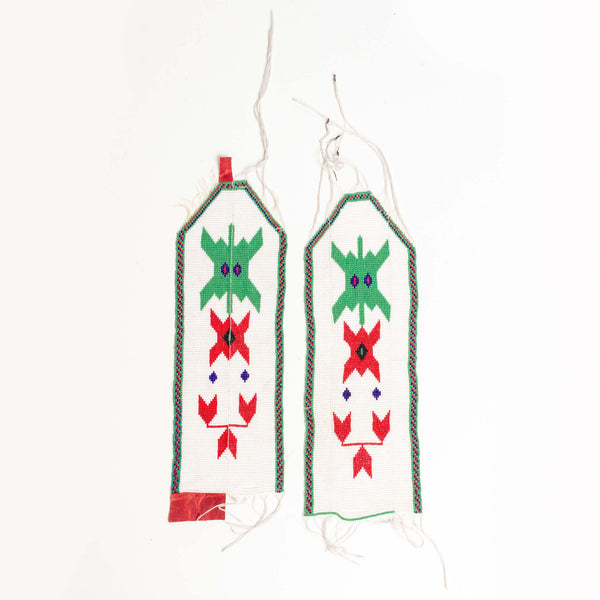 Pair of Beaded Vest Panels