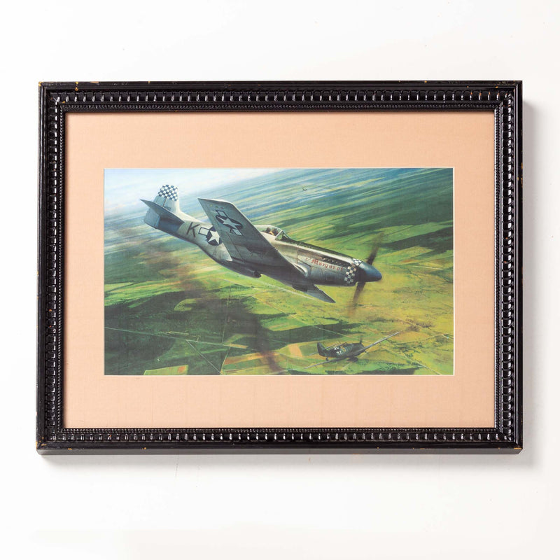 War Airplane Framed Print