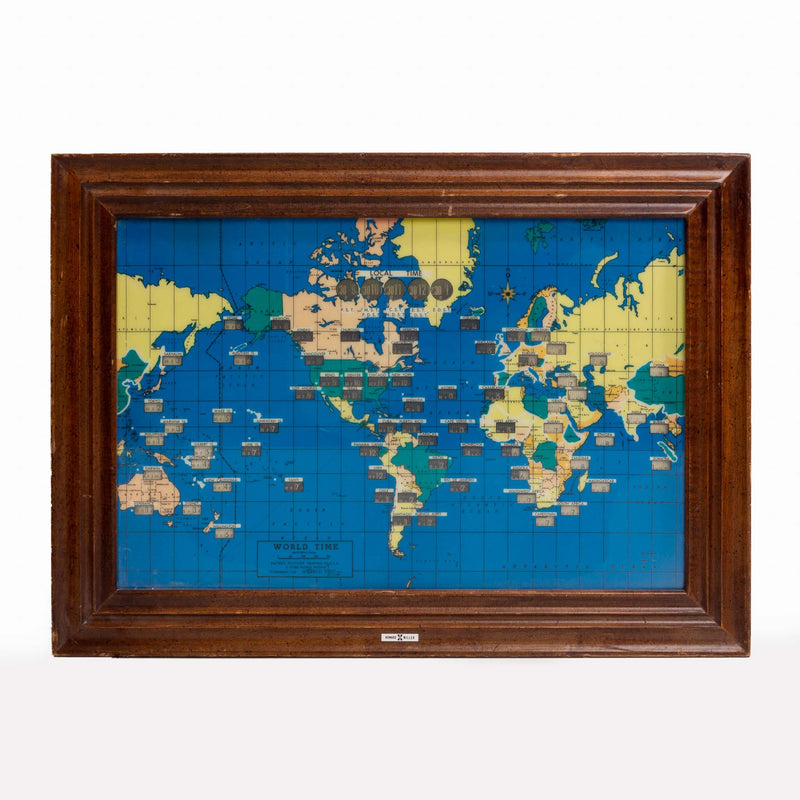 world time wall cloack