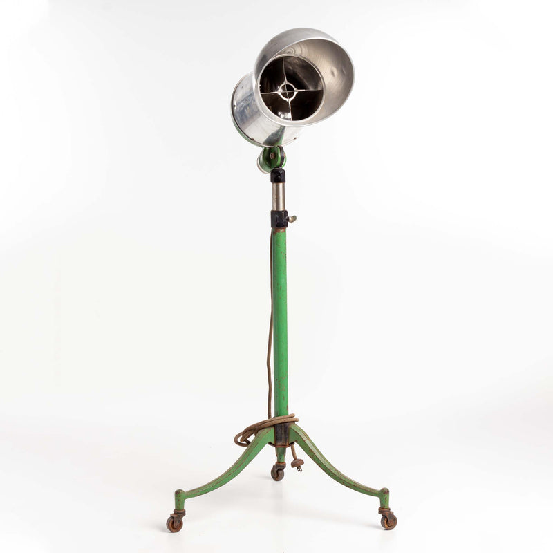 Arnao Hair Dryer on Green Metal Stand