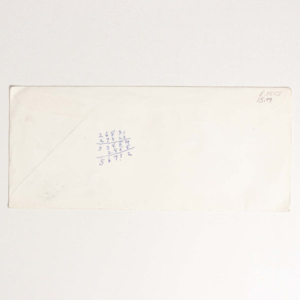 Calgary Stampede Envelope - 1982 Post Office Cancelation