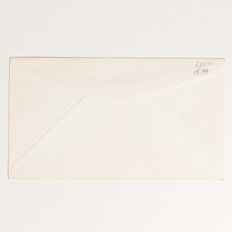 Calgary Stampede Post Office Envelope - 1961, P Johnson Stamp