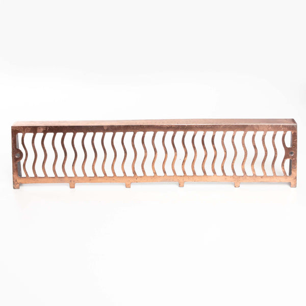 "Copper Wall Grate (24x5.5"")"