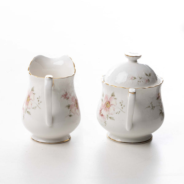 Breath of Spring Cream & Sugar Set