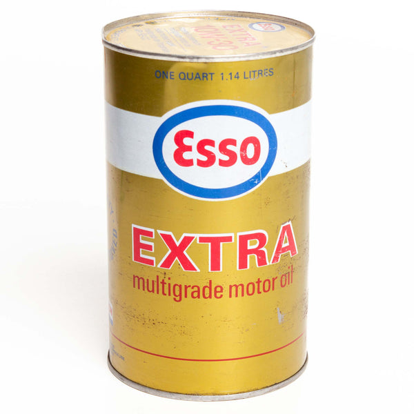 Esso Extra Oil Can 1-Qt Metal