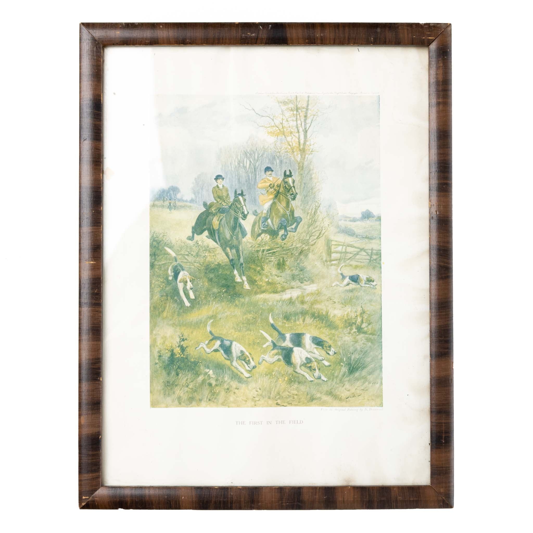 """""""The First in the Field"""" Print"""