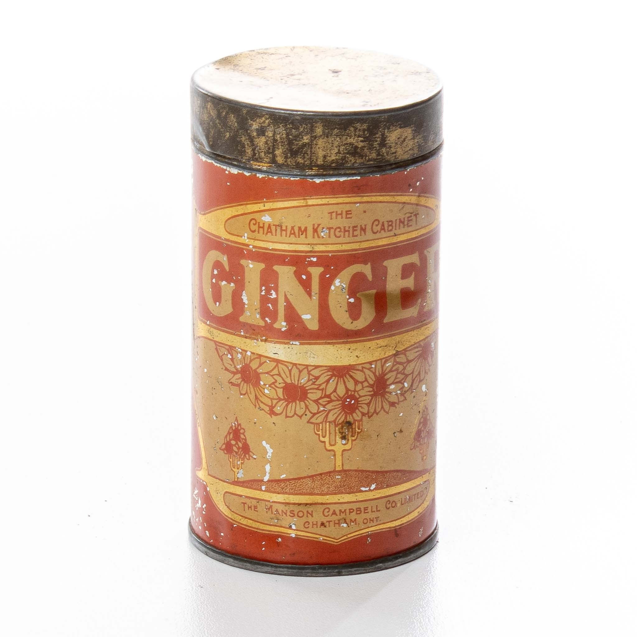 """""""The Chatham Kitchen Cabinet"""" Tin - Ginger"""