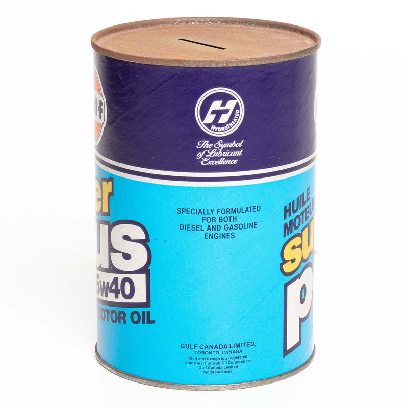 Gulf Super Plus 15w40 Motor Oil Can - 1 Qt.