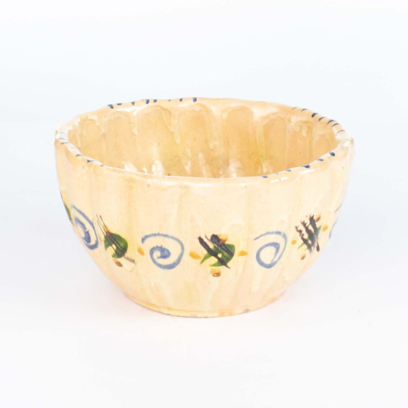 Hand Painted Mexican Pottery Bowl 7.5""