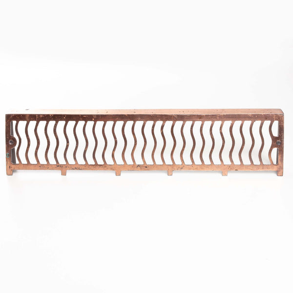 "Copper Wall Grate (15.5x5.5"")"