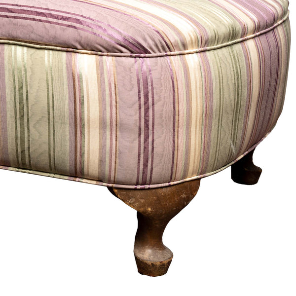 Purple and Green Chaise Lounge