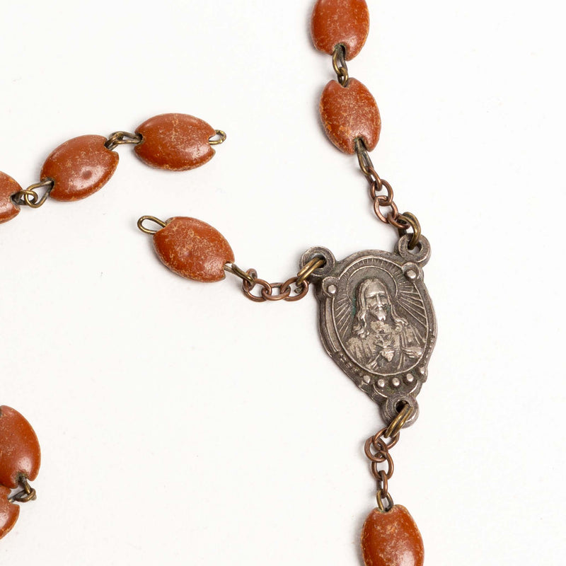 Seed Shaped Rosary Beads