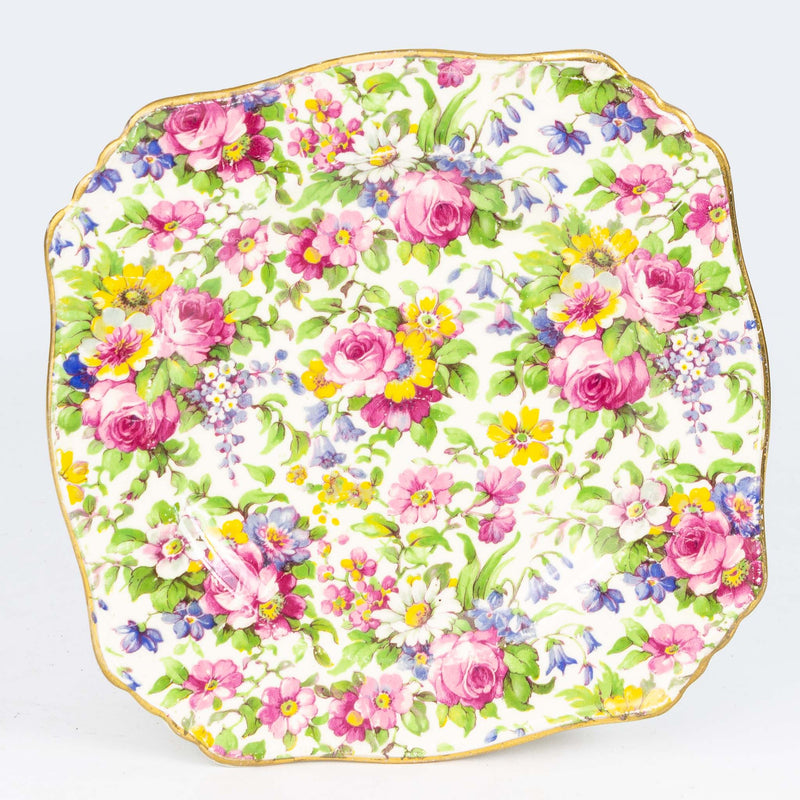 "Royal Winton 6"" Bread & Butter Plate Summertime"