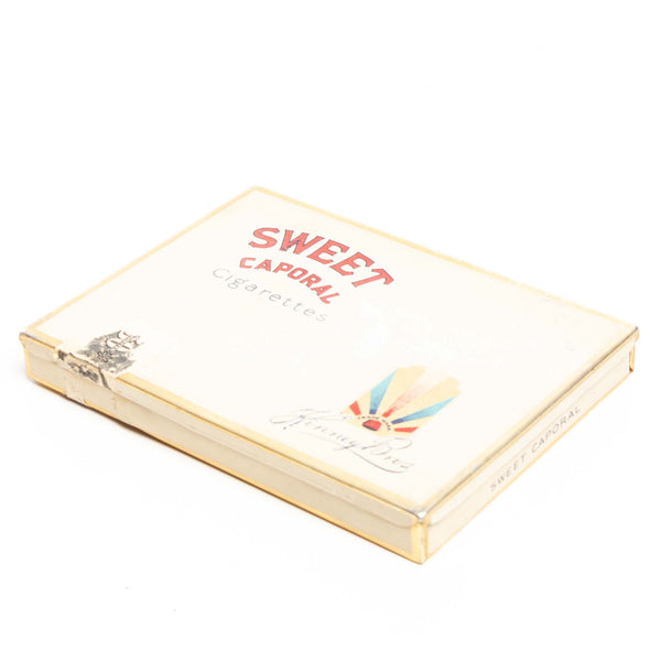 Sweet Caporal Flat Cigarette Tin