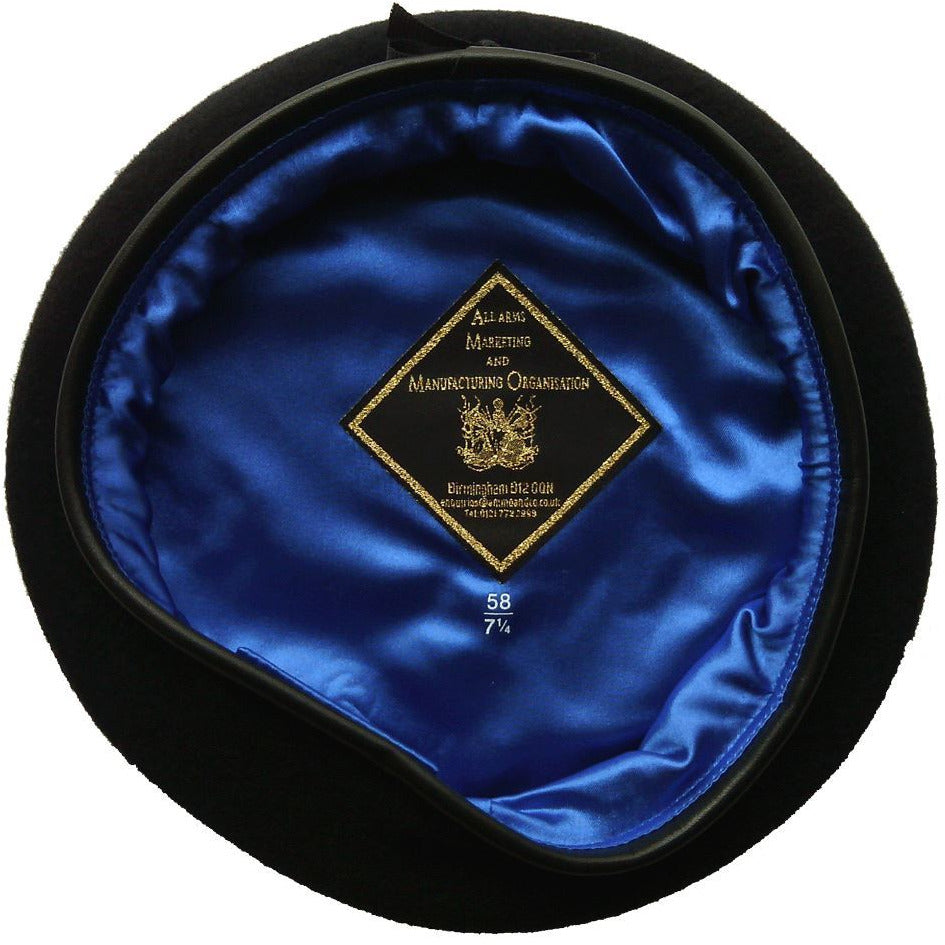 Small Crown Royal Blue Beret