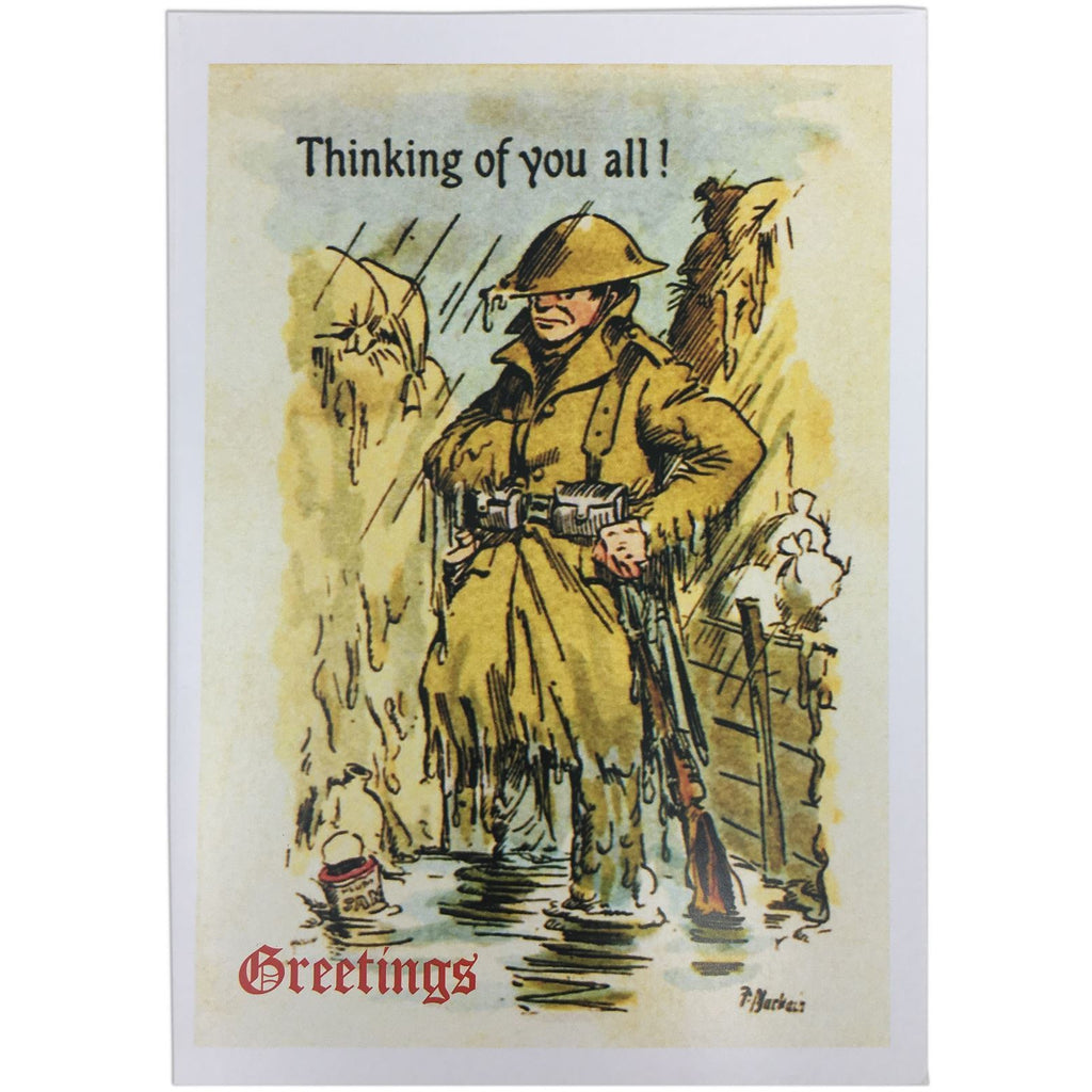 "Christmas Card ""Thinking of you all!"" - WHILST STOCKS LAST"