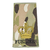 The Royal Regiment of Fusiliers - O/R Rank Slides