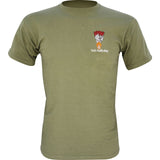 Embroidered T-Shirt - The Fusiliers