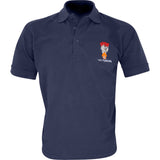 Embroidered Polo Shirt - Navy - The Fusiliers