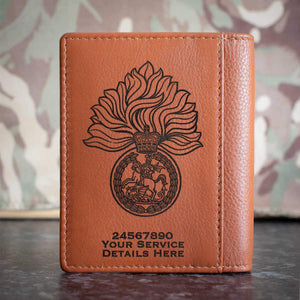 Royal Regiment of Fusiliers Credit Card Wallet