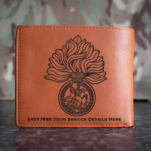 Royal Regiment of Fusiliers Leather Wallet