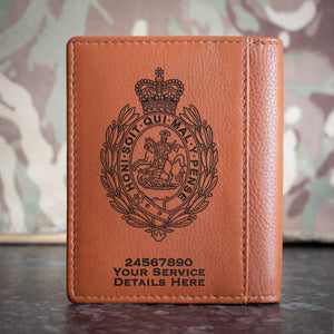 Royal Regiment of Fusiliers Crest Credit Card Wallet