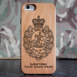 Royal Regiment of Fusiliers Crest Phone Case