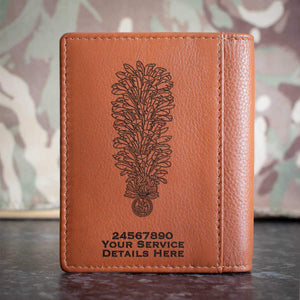Royal Regiment of Fusiliers Hackle Credit Card Wallet