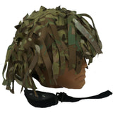Lazer Cut MTP  Helmet Cover Netting