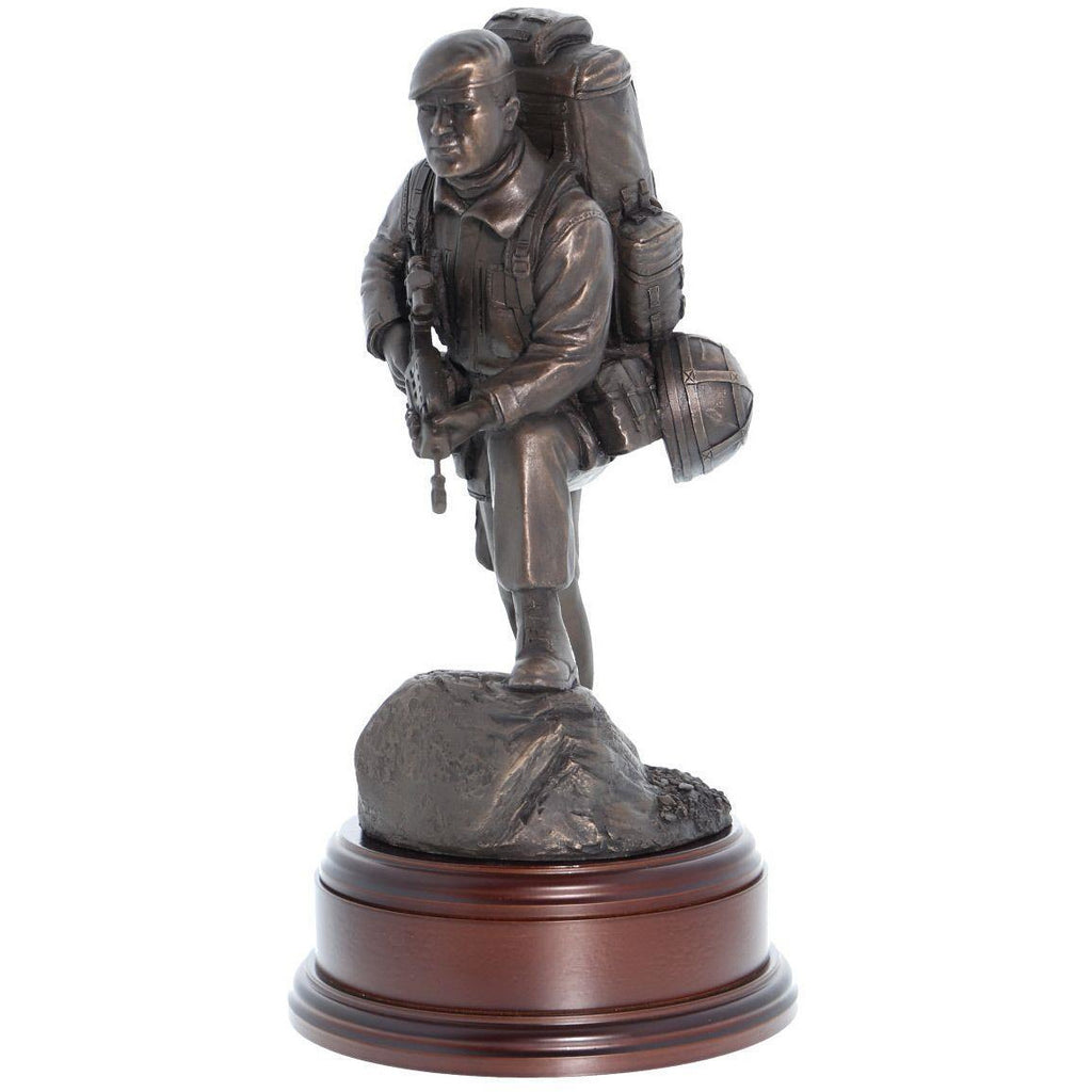 British Army 'Alert' Soldier, Bronze
