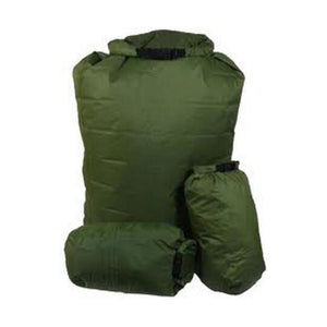 Exped 100% Waterproof Bergan 1 x 140L & 2 x 13L Pocket Liners - Olive