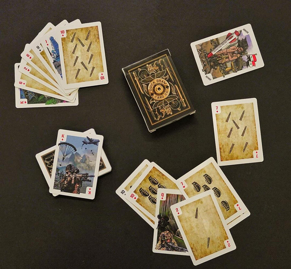 Sandbag Edition Military Playing Cards (100% UK Manufactured)