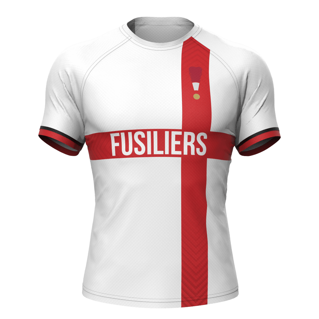 CALL FOR PRICE Fusilier Sports - Rugby Jersey & Shorts Kit - MOQ 5 (made to order)