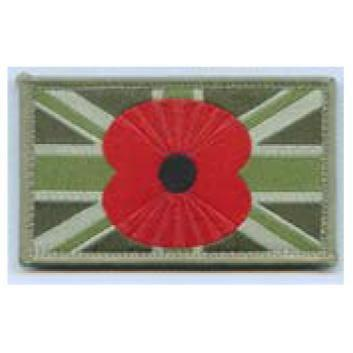 Union Patch with Poppy