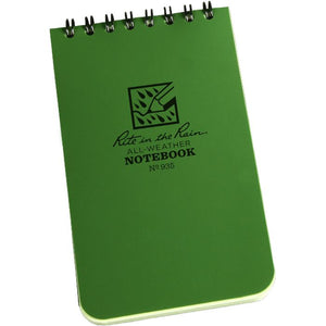 Rite in the Rain Pocket Notebook 3 x 5 - Green