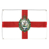 Fusiliers Flag - St George's Cross with RRF Regimental Crest