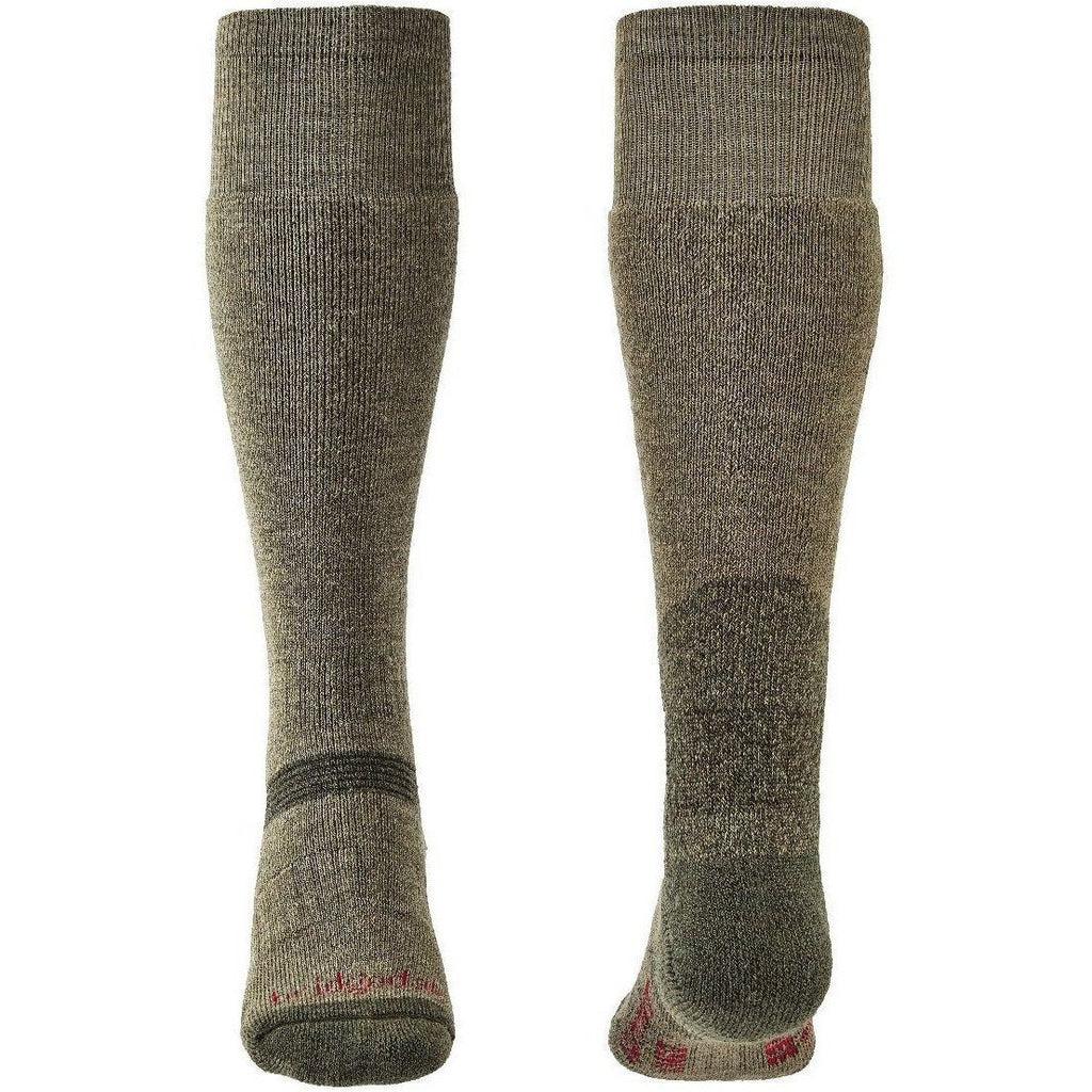 Bridgedale Explorer Heavyweight Merino Performance Knee Unisex - (Olive Green) (Previously Summit Knee) [product_type] Bridgedale - Military Direct